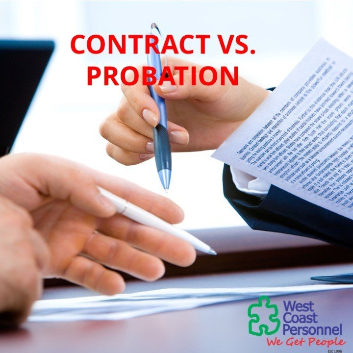 contract vs. probation