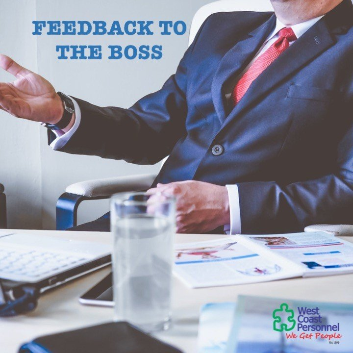 Feedback to the boss