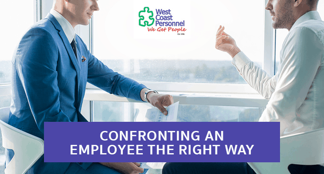 Confronting an Employee