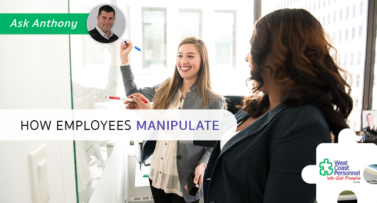 employees manipulate