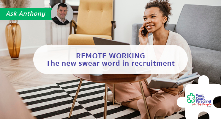 Remote Working – Welcome it don't swear at it!
